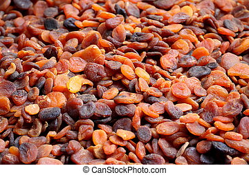 Sun-dried organic Turkish apricots
