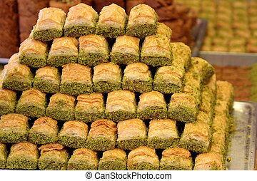Turkish baklava.