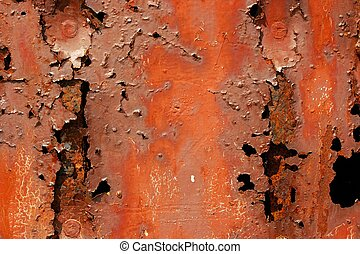 Rusty metal - Very rusty, corroded metal texture