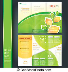 business brochure template - tri fold business brochure...