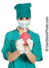 doctor, enema, jeringuilla