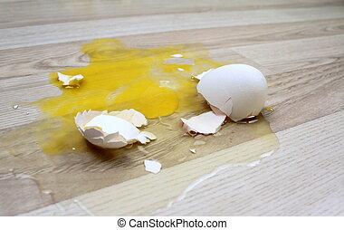 quebrada, ovo