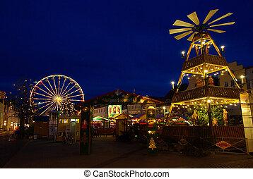 Cottbus christmas market 01