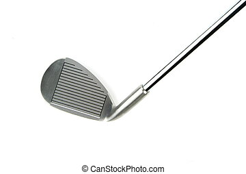 Golf club isolated on white background