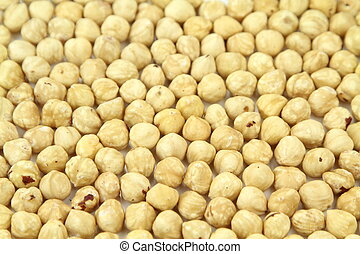 Delicious Hazelnuts ,close up image