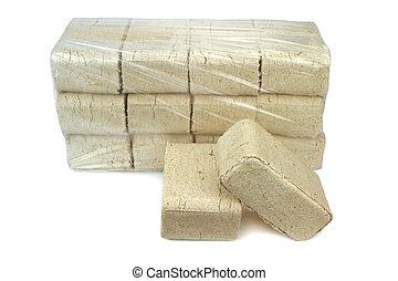 madera, Briquetas