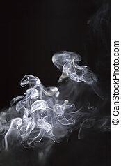 smoke lighting abstract