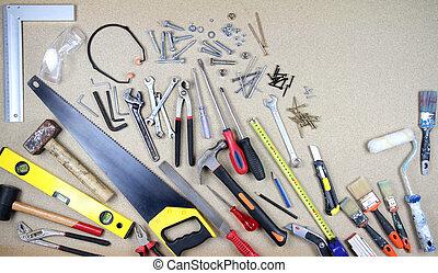 Work tools - Various work tools