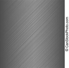 Metal texture chrome, iron, stainless steel, silver -...