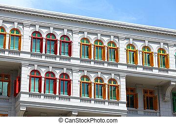 Heritage architecture in Singapore