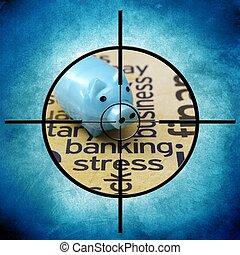 Banking stress target