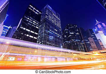 Traffic trafic with Hong Kong