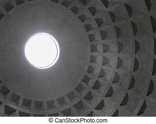 Pantheon Rome - Pantheon temple to all Gods Rome Italy