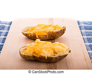 Half Baked Cheesy Potatoes