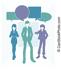 Business text speak - Text box or the box the words of both...