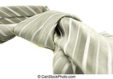 Detail of a necktie