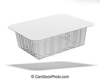 Plastic food box
