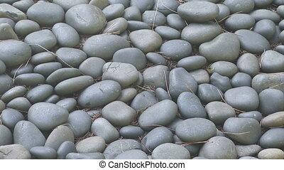 River Rocks - Zoom in shot of river rocks in the Silver...