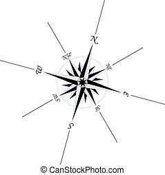 compass 2 - Compass illustration, in vector format.