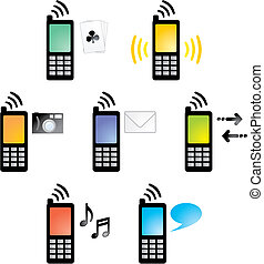 Cellphone01_4_icons2 - Cell Phone Icons