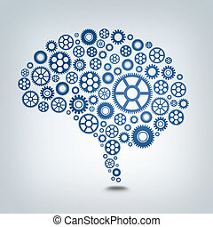Gear Mind - A working mind using many gears