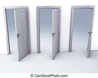 choice Open Door Possibilities - image of choice Open door...