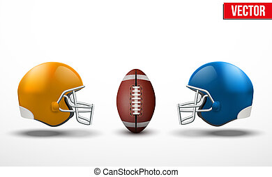 Background of competition in American football teams -...