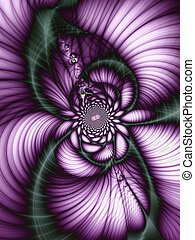 Beautiful abstract flower