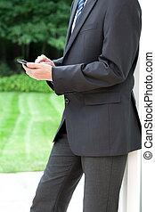 Elegant business suit
