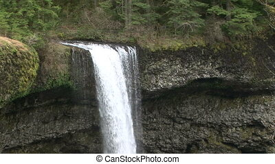 Waterfall in Silver Falls State Park near Silverton, Oregon