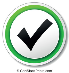 Vector approved icon