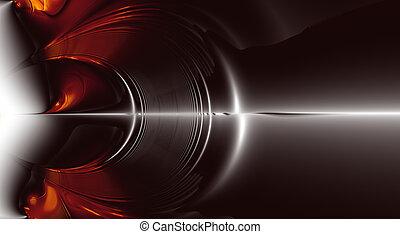 Sound Explosion, fractal - Fractal Explosion of Sound Waves....
