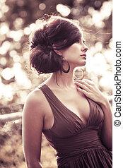 contemporary fashion - fashion photo shoot with beautiful...