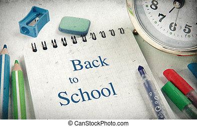 学校, 概念, 背中