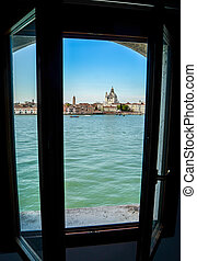 Venice Hotel Room - The View Over The Water From A Hotel In...