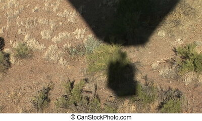 Hot Air Balloon Shadow - Shadow of a hot air balloon...