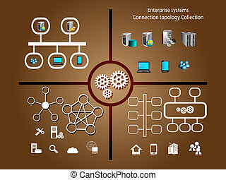 Enterprise systems infographics - Enterprise systems and...