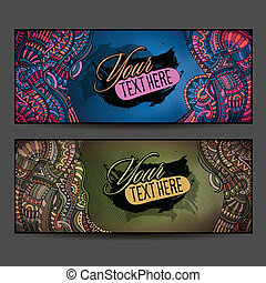 Abstract vector decorative ethnic ornamental backgrounds....