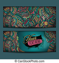Abstract vector decorative ethnic ornamental backgrounds...