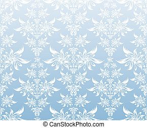 Vector decorative ornament - Vector decorative floral...