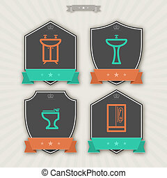 Cleaning Items - Bathroom Utensils and other related...
