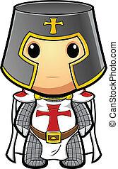 Knight Standing Still