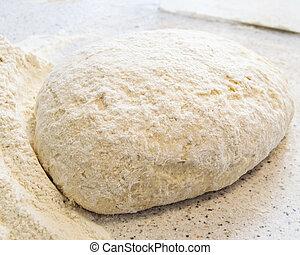 Dough for baking