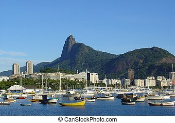 Rio de Janeiro bay, in Brazil