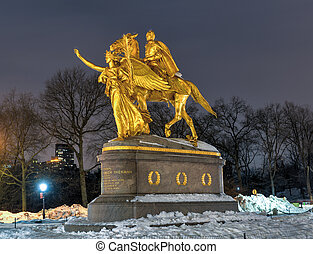 William Tecumseh Sherman Memorial, New York - William...