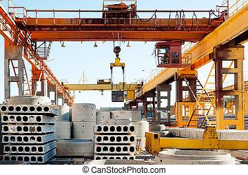Crane operator works at finished goods warehouse - Tyumen,...