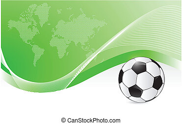 soccer graphic illustration design
