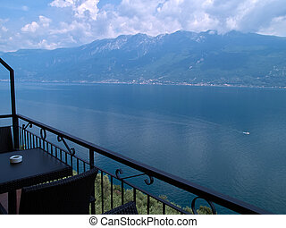 Lago di Garda Lake Garda Italy north Italy a major popular...