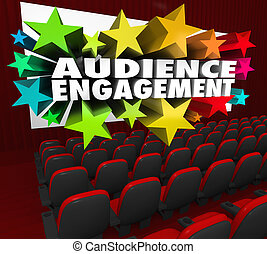Audience Engagement Movie Theatre Entertain Crowd...
