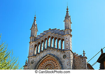 Sant Bartomeu Church Soller Majorca - the Sant Bartomeu...